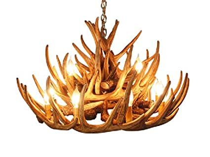 Antler Chandelier With 21 Antlers And 12 Lights Cascade Style By Muskoka  Lifestyle Products