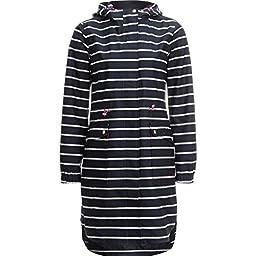Joules Raina Print Jacket - Women\'s French Navy Stripe, 12