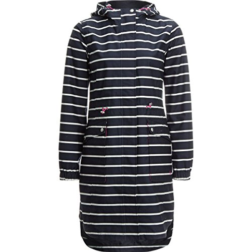 Joules Raina Print Jacket - Women's French Navy Stripe, 6