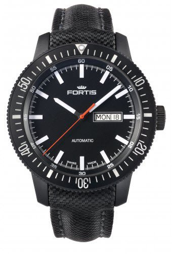 fortis-mens-6471831-lp-analog-display-automatic-self-wind-black-watch