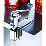 Edlund U-12C Commercial Standard Large Height Manual Can Opener - Stainless Steel Clamp Base