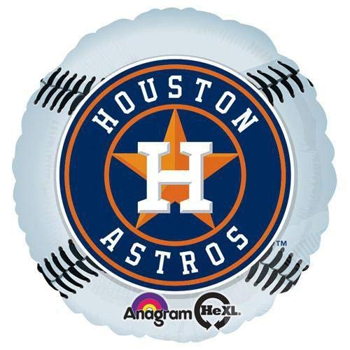 (Anagram 27340 MLB Houston Astros Baseball Team Foil Balloon 18