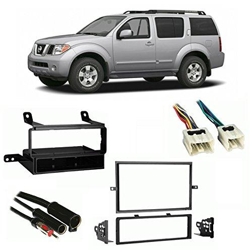 (Fits Nissan Pathfinder 2005-2007 Non-NAV Multi DIN Harness Radio Dash Kit)