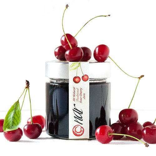 Nar Gourmet Sour Cherry Preserve - Gourmet Jams Cherry