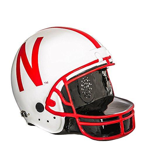 Team Sports America Nebraska Huskers Helmet Bluetooth Speaker by Team Sports America