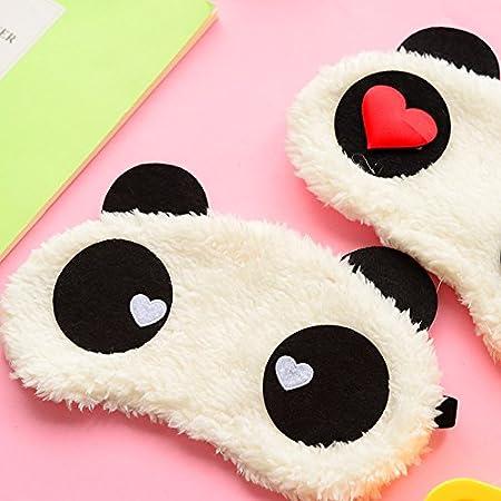 Doitsa Mignon Panda Dormant MasqueCartoon Animaux Design Kawaii Style Doux Masque de Nuit pour Enfant Gar/çon Fille Style-1