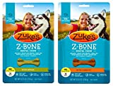 Zuke's Z-Bones Natural Grain-Free Dental Chew Mini (Pack of 2), Apple and Carrot – 36 Chew Bones Total Review
