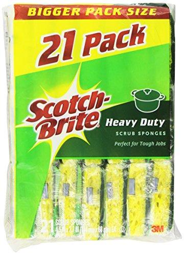 Scotch Brite Heavy Scrub Sponge Count
