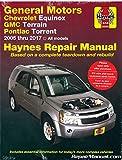 H38040 Chevrolet Equinox And Pontiac Torrent 2005-2012 Haynes Repair Manual