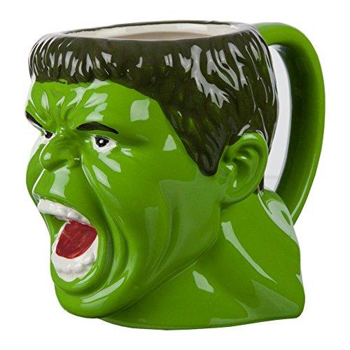 - Incredible Hulk - Angry Face Molded Mug