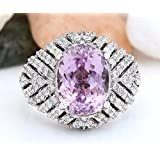 Fashion Women Jewelry Kunzite Gemstone 925 sterling silver Ring (6)