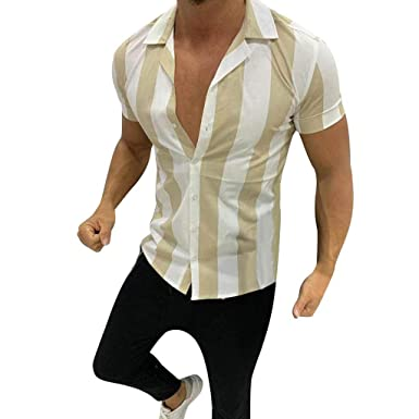 Soupliebe_Camiseta de los hombres Blusa Estampada de Moda ...