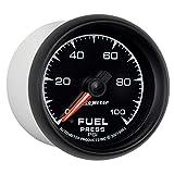 "Auto Meter 5963 ES 2-1/16"" 0-100 PSI Full Sweep Electric Fuel Pressure Gauge"