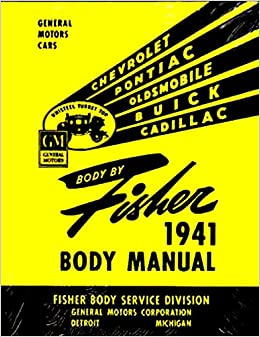 STEP-BY-STEP, FULLY ILLUSTRATED 1941 1942 BUICK FISHER BODY