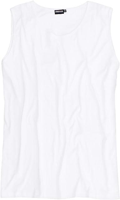 Adamo Camiseta Blanca Oversize, 2xl-8xl:7XL: Amazon.es: Ropa