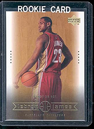 2003 Upper Deck 30 Ready Or Not Lebron James Rookie Card Mint Condition Ships In A Brand New Holder