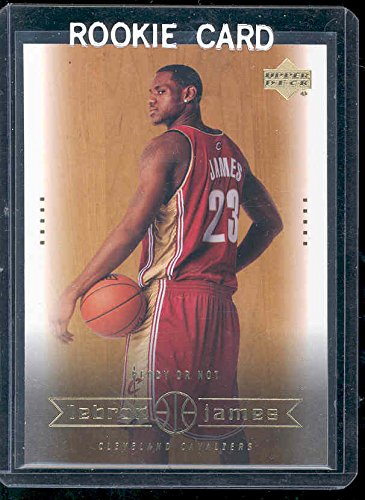 2003 Upper Deck #30 Ready or Not Lebron James Rookie Card - Mint Condition Ships in a Brand New Holder