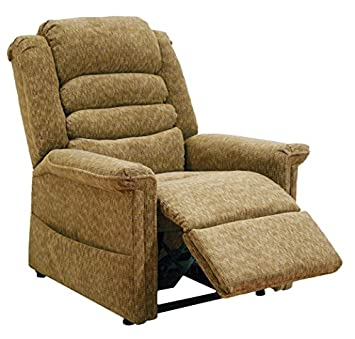 Catnapper Soother 4825 Power Full Lay-Out Lift Chair Recliner with Heat and Massage – Autumn