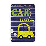 My Little Nest Cute Music Car Cozy Throw Blanket Lightweight Microfiber Soft Warm Blankets Everyday Use for Bed Couch Sofa 60'' x 90''