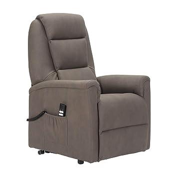 Sillon-Relax - Sillòn levantapersonas con reclinaciòn del Respaldo y del reposapiés 2 Motores 3