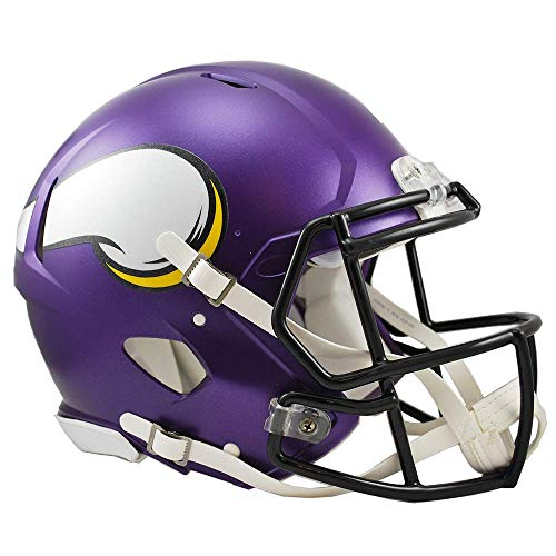- NFL Minnesota Vikings Speed Authentic Football Helmet