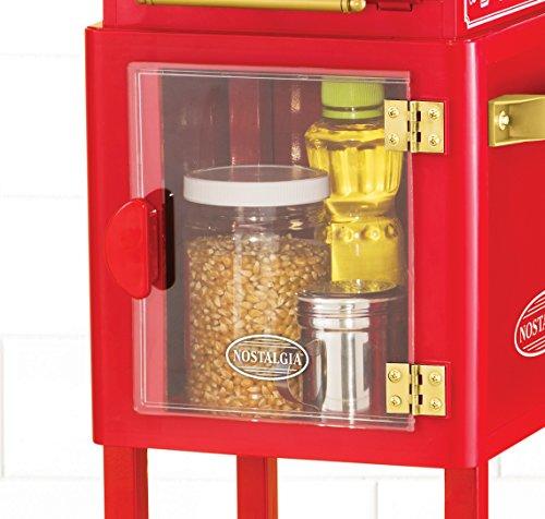 Nostalgia Electrics Vintage Collection Popcorn Cart 1