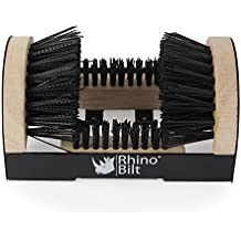 Rhino Bilt Boot Scraper, THE Original Boot Scrapers - Outdoor Boot Brush with Warranty