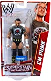 WWE Basic Exclusive Superstar Entrances CM Punk Action Figure