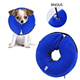 PetAZ Pet Recovery Inflatable Collar, Comfortable Soft Elizabethan E-Collar for Dogs Cat, Postoperative Wound Healing[M]