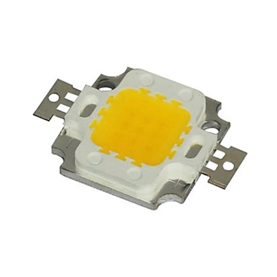 LED Light 10W DC 9-12V LED Beads Chip Warm White//Cool White High Power 800-900LM LED Lamp SMD Chip Light Bulb 900MA Color : Cool White
