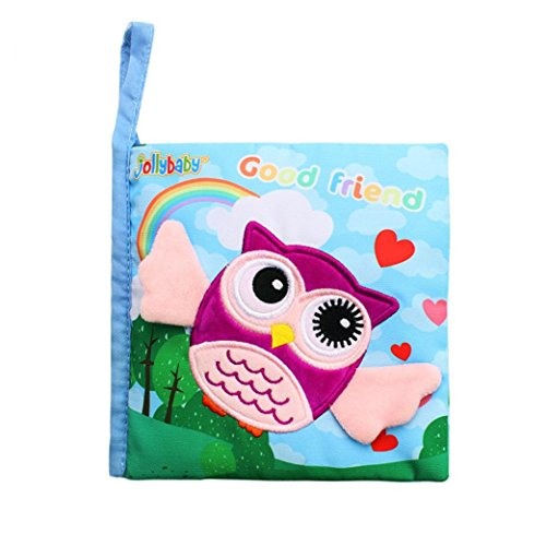 Ideas For Adults Self Costumes Made (Vibola Animals Owl Soft Cloth Baby Intelligence Development Learn Picture Cognize Book)