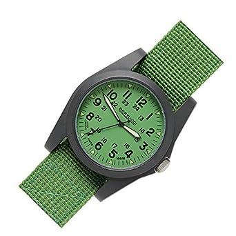 Bertucci 13360 Unisex Polycarbonat Jungle GrÜn Nylon Band Jungle GrÜn Zifferblatt Smart Watch