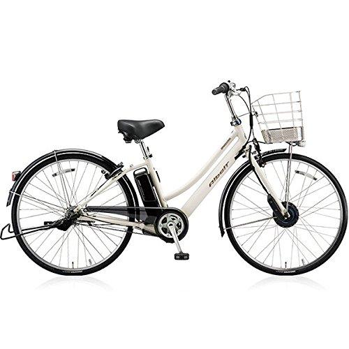 ブリヂストン(BRIDGESTONE) アルベルト e L型 AL7B48 27インチ 電動アシスト自転車 専用充電器付 B076PWHY13P.シャンパンホワイト