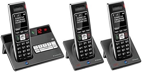 BT Diverse 7450 R Plus – Executive Teléfono DECT – Teléfono inalámbrico con contestador automático (Digital) – largo alcance