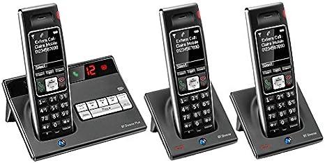 BT Diverse 7450 R Plus – Executive Teléfono DECT – Teléfono inalámbrico con contestador automático (Digital) – largo alcance 200 nombre/número – Libro de teléfono móvil compatible, mensajes de texto SMS –