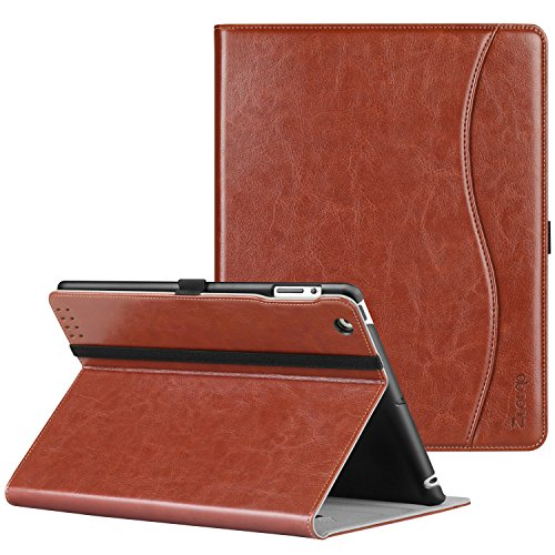 Ztotop Case for iPad 2/3/4 - Premium PU Leather Business Slim Folding Stand Folio Cover with Auto Wake/Sleep for iPad 4th Generation with Retina Display