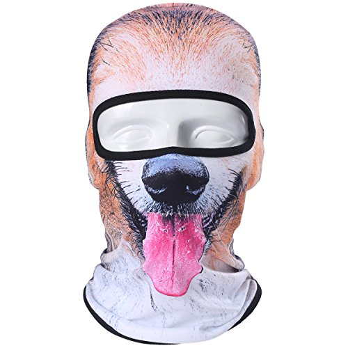 [JIUSY Animal Balaclava Face Mask Breathable Speed Dry Outdoor Sports Riding Ski Head Cover Motorcycle Cycling UV Protection Helmet] (Cool Quick And Easy Costumes)