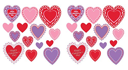 Beistle 70080 Valentine's Day Cutouts 28 Piece, 4