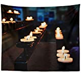 Westlake Art - Faith Flame - Wall Hanging Tapestry - Picture Photography Artwork Home Decor Living Room - 68x80 Inch (C8FEE)