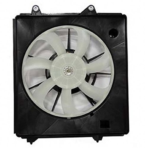 TYC 611480 Honda Fit Right Replacement A/C Condenser Fan Assembly