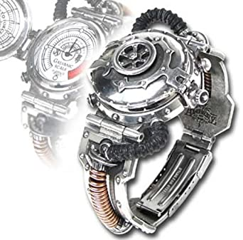 Alchemy of England AW15 EER Steam-Powered Entropy Watch Steampunk Kalibrierer Steampunk Armbanduhr