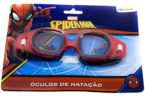 Oculos Natacao Splash Spider Etitoys Oculos Natacao Splash Spider Estampa Splash Spider