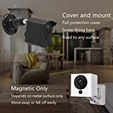 Wyze Cam Wall Mount, Wyze Camera Mount with Weather Proof Cover for Wyzecam V2 1080p Ismart Sports Indoor Outdoor Use, 3 Pack