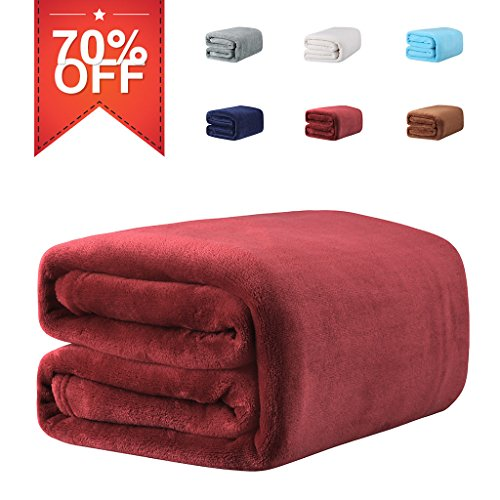 LANGRIA Throw Blanket for Home Couch Outdoor Tr...