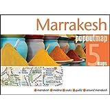 Marrakesh Popout Map: Handy Pocket Size Pop Up City Map of Marrakesh