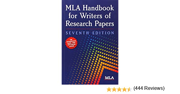 MLA Handbook for Writers of Research Papers, 7th Edition: Modern ...