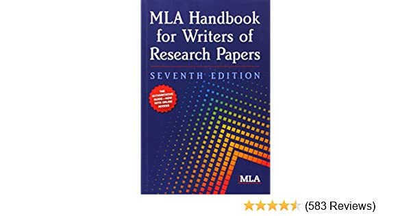 mla handbook for writers of research papers 7th edition modern