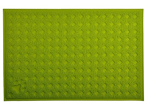 Cat Pet Litter Box Mat,Kitty Litter Rug,Doormat,Rectangle Shape, 23.5×15.75 Inches,4 Colors Available
