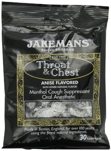 Jakemans Anise Throat & Chest  30 count Lozenge Bag