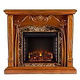Southern Enterprises AMZ4669E Cardona Electric Fireplace, Walnut